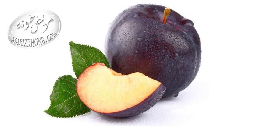 خواص دارويي آلو/plum,plum-prunus domestica-Rosaceae-آلو-ميوه ي تک هسته اي-گياه بومي اروپا و آسيا-اکسير صبحانه-سم زدايي-شادابي بدن-انرژي-کربوهيدرات-پروتئين-تيامين-ريبوفلاوين-اسيد اسکوربيک-آلفاتو کوفرول-سديم-پتاسيم-کلسيم-منيزيم-آهن-مس-فسفر-گوگرد-ويتامين-اسيد سيتريک-اسيد سوکسينيک-اسيد ساليسيليک-اسيد ماليک-ويتامين هاي B2-B1-A-ويتامين C-نياسين-رژيم غذايي-آلو مدر-ملين-بيماري رماتيسم-ضد يبوست-صفرا-اسيد سيانيدريک-مغز هسته ي آلو-جوانه هاي درخت آلو-گلو کوزيد-تخامه-آلوي خشک خيس کرده-کرم هاي معده-گل بنفشه-کم خوني-چربي-رژيم غذايي کم چرب-صمغ درخت آلو-سنگ کليه-سنگ هاي صفراوي-نفخ شکم-سوهاضمه-بهترين زمان براي خوردن آلو