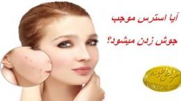 آیا استرس موجب جوش زدن میشود؟ ,درمان خشکی بیش از حد پوست,علت ابتلا به خشکی پوست,درمان جوش های سر سفید,نقش هورمون کورتیزول در بدن,درمان التهاب پوستی