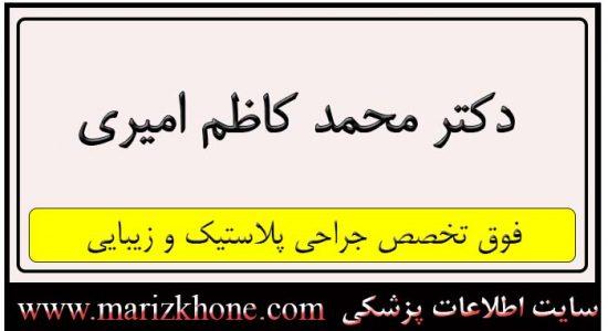 آدرس و تلفن دکتر محمد کاظم امیری