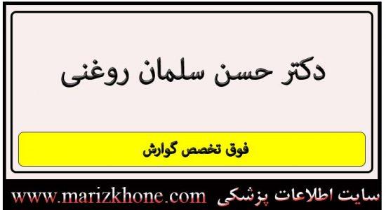 آدرس و تلفن دکتر حسن سلمان روغنی