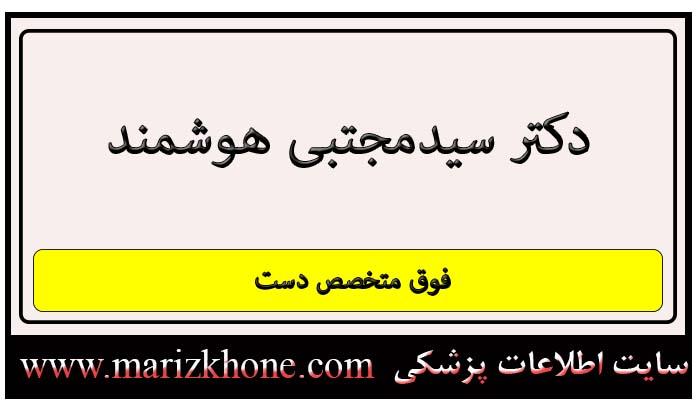 آدرس و تلفن دکتر سیدمجتبی هوشمند