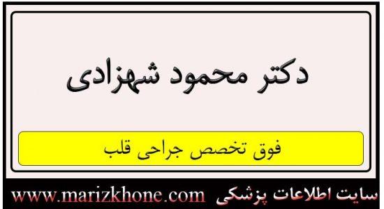 آدرس و تلفن دکتر محمود شهزادی