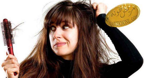 چه مقدار ریزش مو طبیعی است
