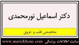 آدرس و تلفن دکتر اسماعیل نورمحمدی