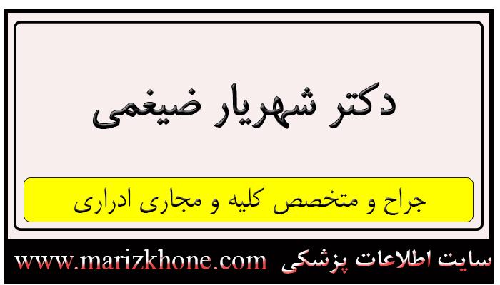 دکتر ضیغمی شیراز