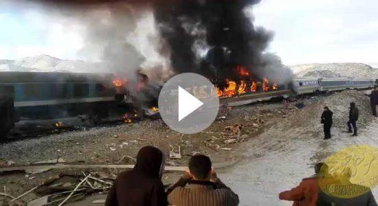 سانحه برخورد دو قطار در ایستگاه هفت خوان