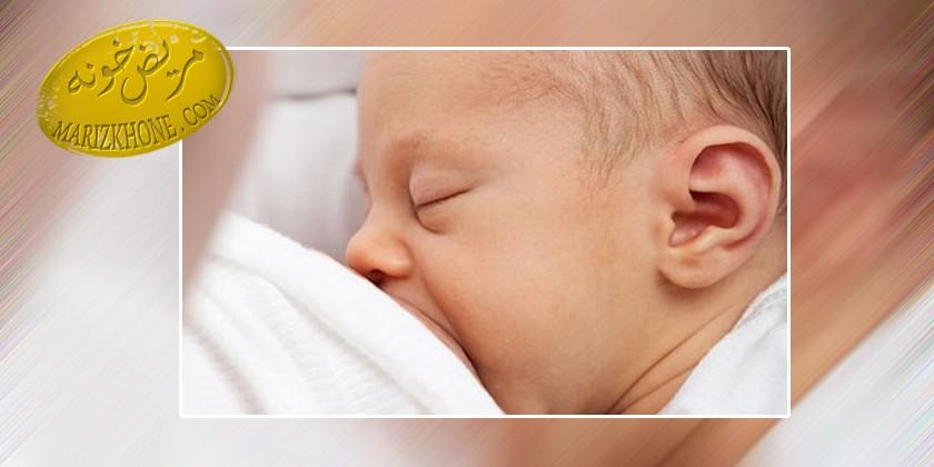 فواید شیر دادن به نوزاد