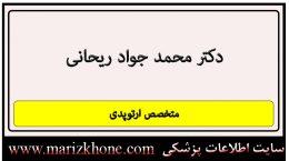 دکتر محمد جواد ریحانی