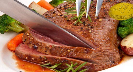 خطرات مصرف زیاد گوشت قرمز