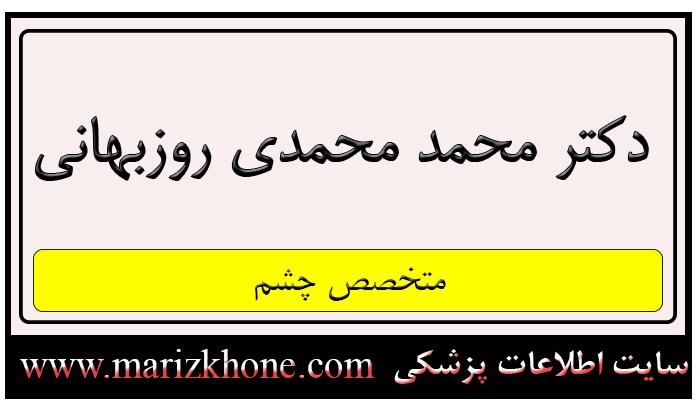 آدرس و تلفن دکتر محمد محمدی روزبهانی