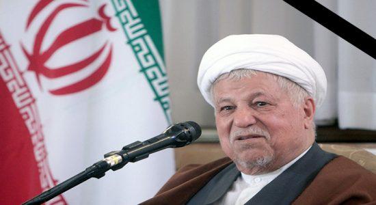 علی اکبر هاشمی رفسنجانی درگذشت