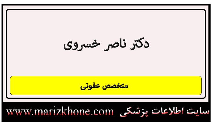 آدرس و تلفن دکتر ناصر خسروی