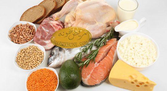 ارتباط افزاش وزن با کمبود پروتئین در رژیم غذایی
