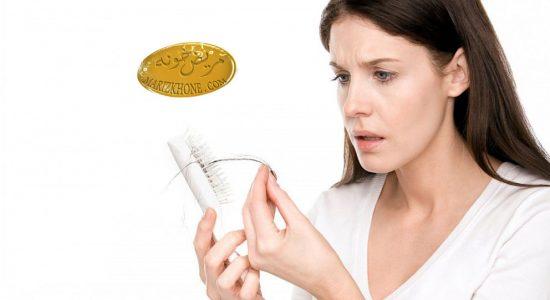 دلایل کم شدن یا ریزش مو در زنان